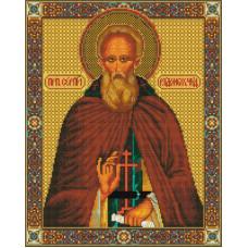 Алмазная мозаика икона Преподобного Сергия Радонежского
