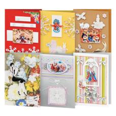 Скрапбукинг: новогодние открытки, стикеры и чипборды