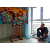 Антон Горцевич, художник