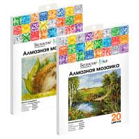 Алмазная мозаика в пакете: особенности и комплектация